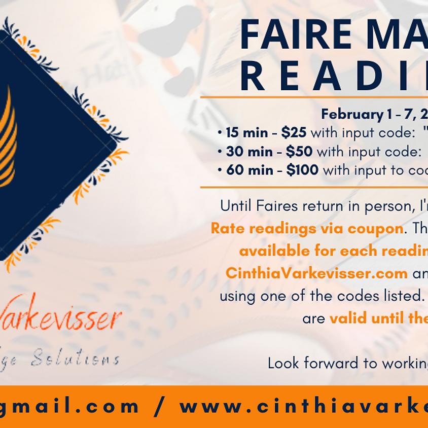 Faire Market Readings