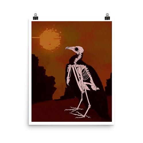 Vulture Bones print