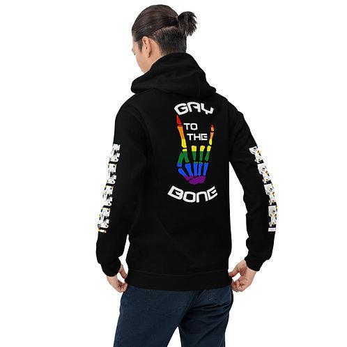 Gay to the Bone Hoodie