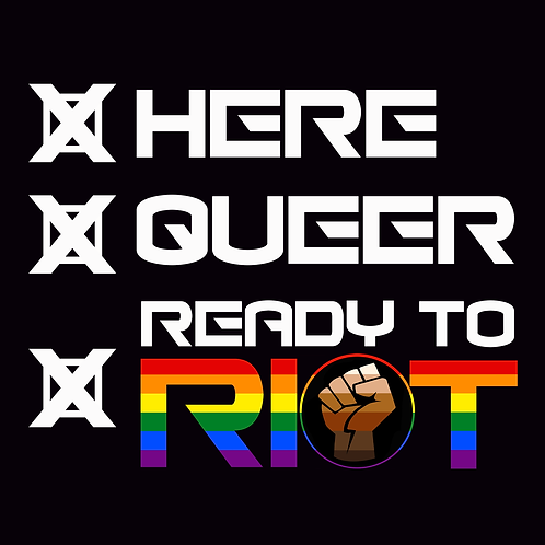 Here Queer Ready To Riot Downloads