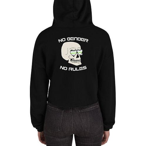 No Gender No Rules AG Crop Hoodie
