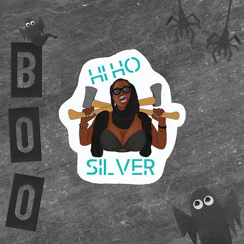Ho Ho Silver sticker