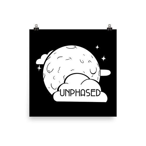 Unphased Moon Print