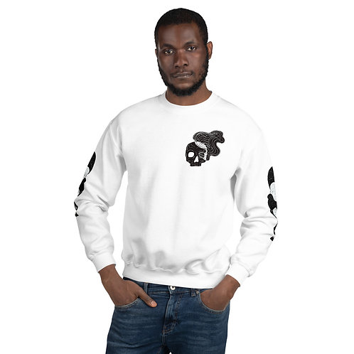 Smokey skull sweater