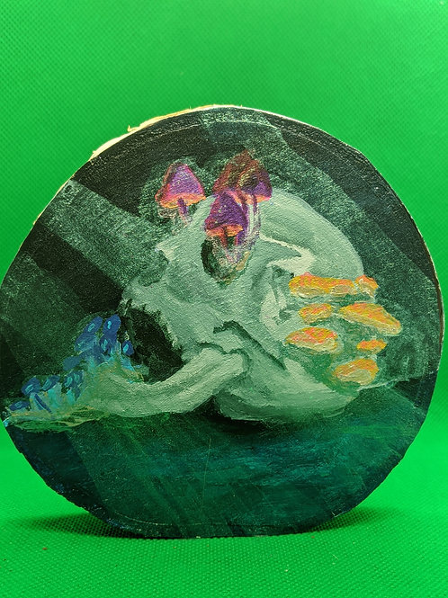 Mushroom skull
