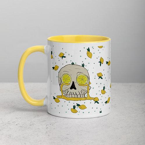 Lemon Skull Mug