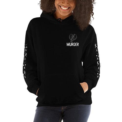 I love murder hoodie