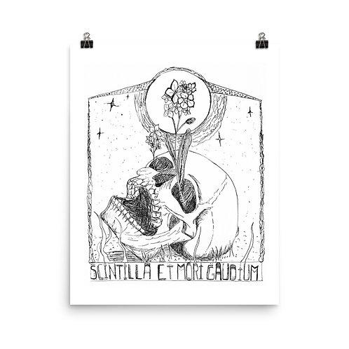Scintilla et Mori Gaudium Poster