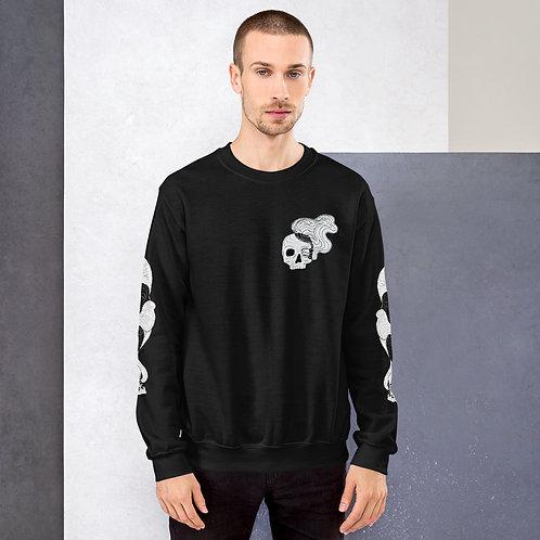 Smokey skull sweater