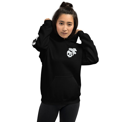 Smokey skull hoodie