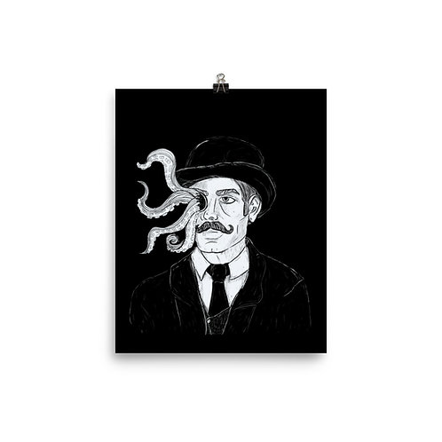 Tentacle monocle Poster