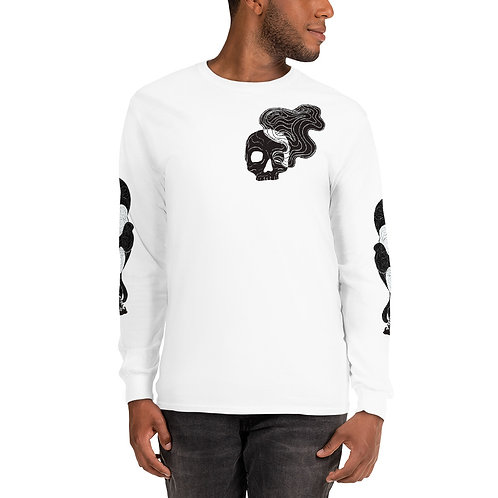 Smokey skull long sleeve