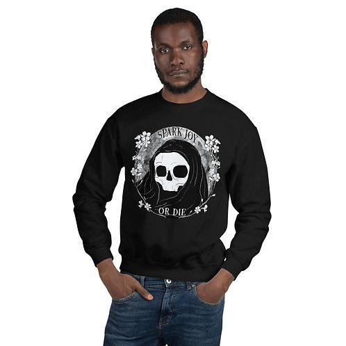 Spark Joy or Die Sweater