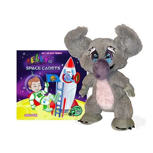 Space Cadet Book & Plush (Combo)