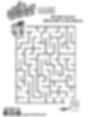 Maze, kids, cartoon, downsyndrome