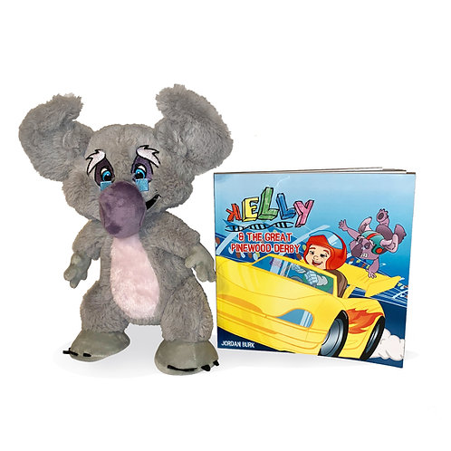 Pinewood Derby Book & Plush (Combo)
