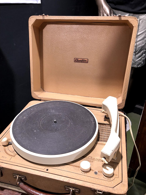 Vintage 1960's 1970's Champion Record Player