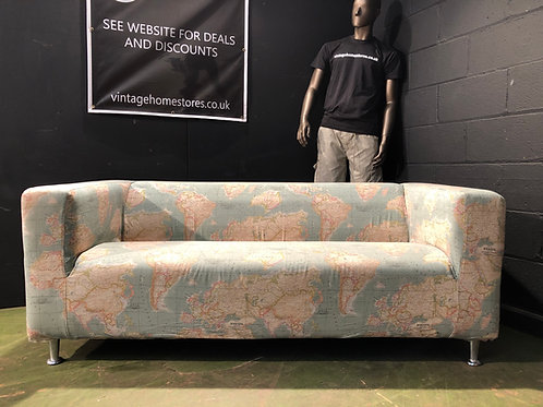 Super Funky 2 Seater Modern Sofa Removable Cover