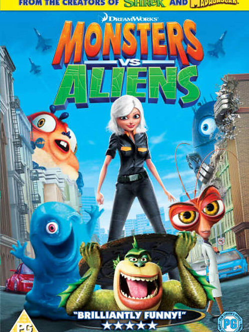 DVD Movie Film Sale | Monsters vs Aliens