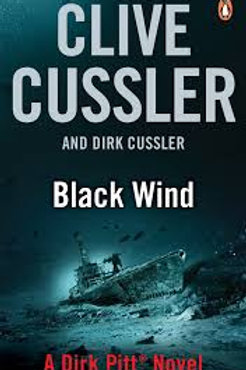 Clive Cussler Book Sale - Black Wind  refbx1206
