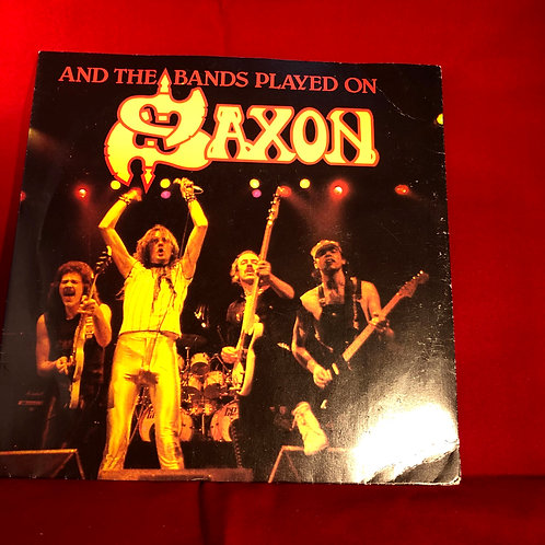 Saxon Never Surrender -  Single Vinyl 7""