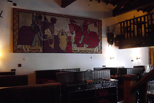 Huge Wall Hanging Medieval style Tapestry ideal Pub Restaurant
