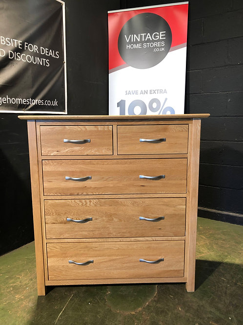 Good Oak Chest of Drawers - Bedroom Furniture