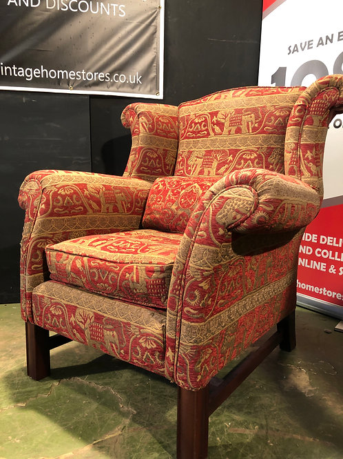 Barker and Stonehouse Duresta Chair in Luxor Fabric