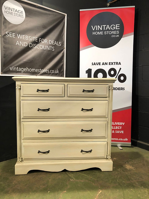 Barker and Stonehouse Victorian Ivory Large Chest of Drawers