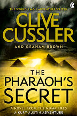 Clive Cussler Book Sale - Pharaohs Secret  ref bx102