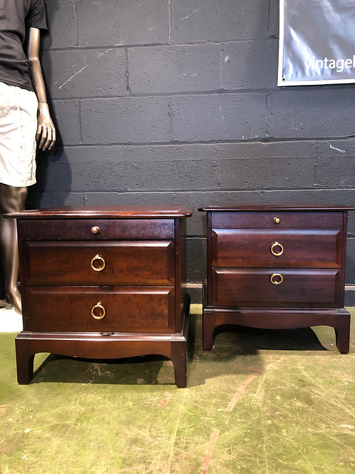 Stag Furniture Pair of Bedside Cabinets B