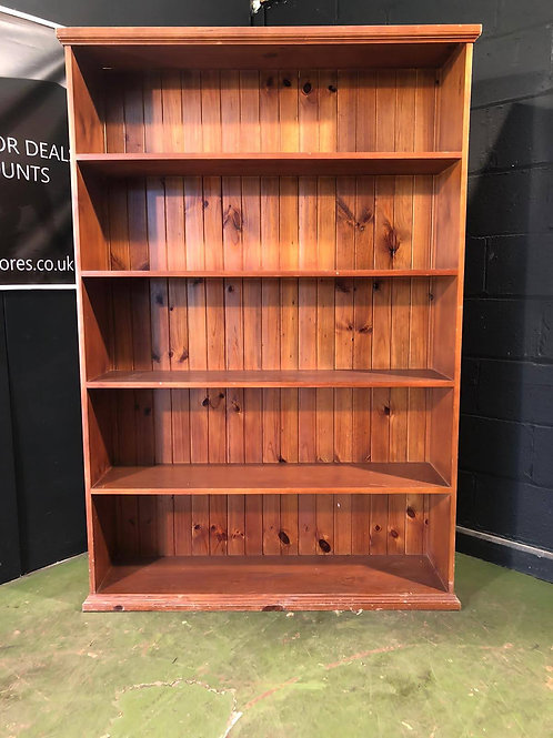 Super Large Pine Dresser Bookcase