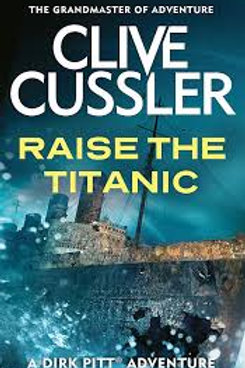 Clive Cussler Book Sale - Raise The Titanic  ref bx102