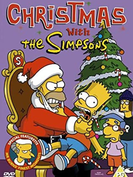 Movie Film Sale | Christmas with the Simpsons DVD
