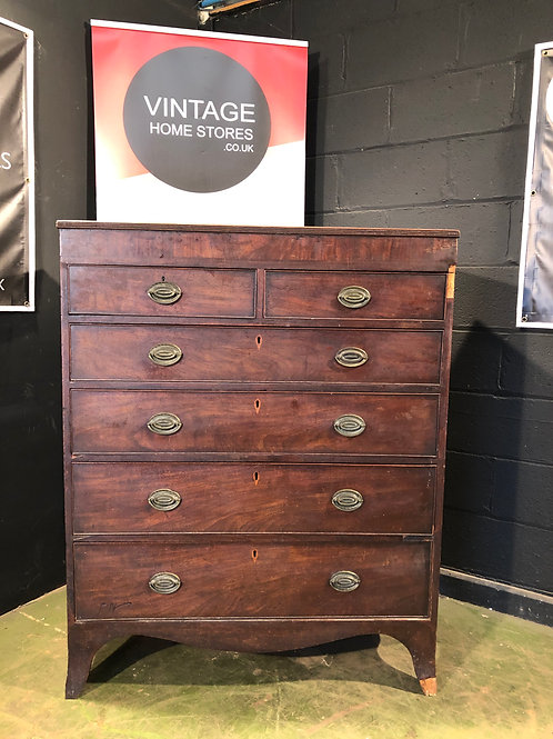 Vintage Antique Restoration Project Victorian Chest of Drawers