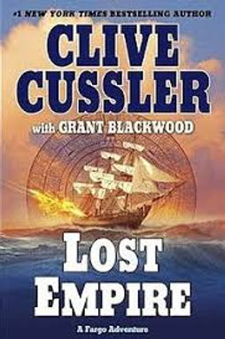 Clive Cussler Book Sale - Lost Empire (ref bx101)