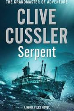 Clive Cussler Book Sale - Serpent refbx1207