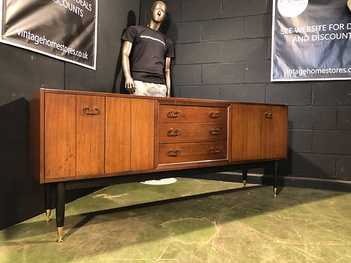 Librenza Vintage Retro Modernist Sideboard E. GOMME for G PLAN 1950S