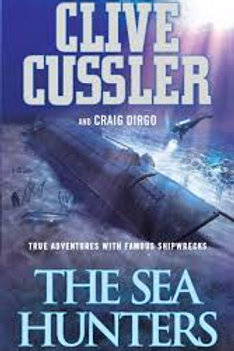 Clive Cussler Book Sale - The Sea Hunters  refbx110