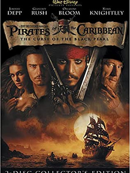 Movie Film Sale | DVD Pirates of the Caribbean The Curse of the Black Pearl