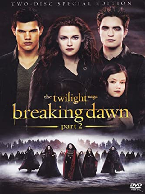 Film Sale | DVD Twilight Breaking Dawn Part 2