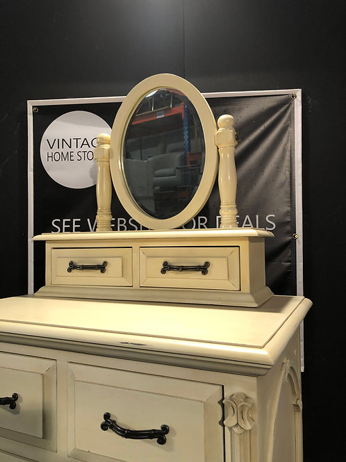 Barker and Stonehouse Victorian Ivory Mirror