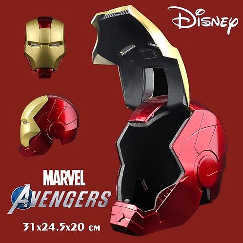 New Disney Lighting Led Ironman Mask Marvel Avengers Iron Man Tony Stark Helmet
