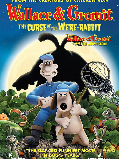 DVD Movie Film Sale | Wallace and Grommit The Curse of the Were Rabbit