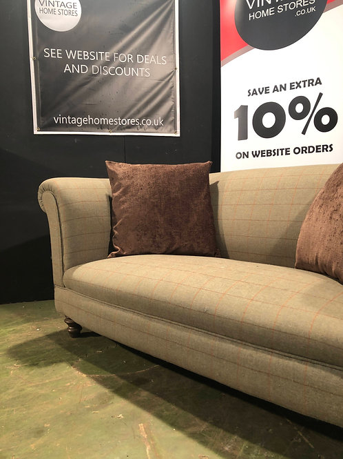 Tweed Style Country Farmhouse Chesterfield Sofa (project)