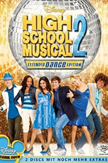 DVD Movie Film Sale | High School Musical 2 Extended Dance Edition