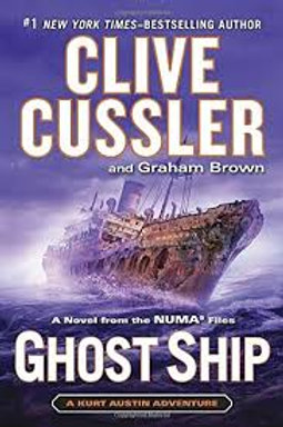 Clive Cussler Book Sale - Ghost Ship (ref bx101)