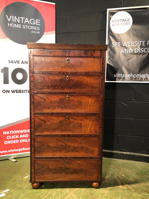 Vintage Antique Tall Chest of Drawers