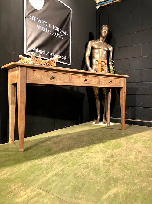 Super Large Wooden Console Table