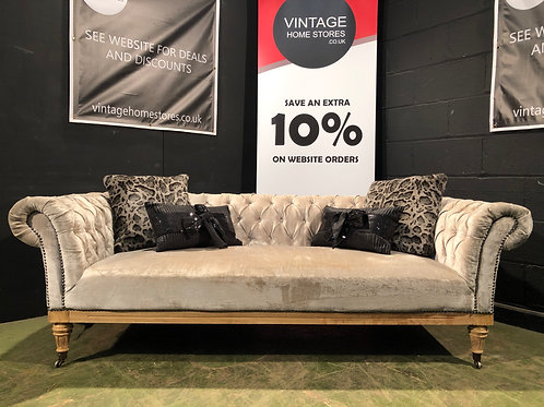 Modern Low Chesterfield Sofa